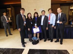 日本からのメンバーとアジアメンバ